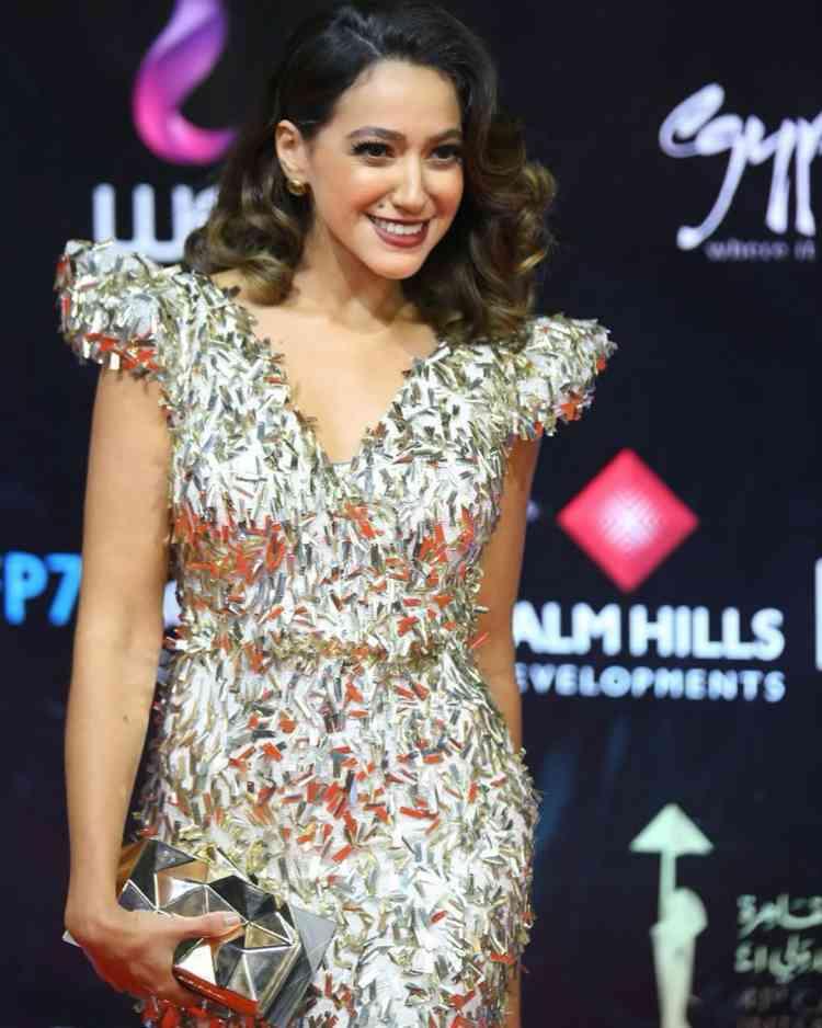 فستان هند عبدالحليم في مهرجان القاهرة السينمائي 2019