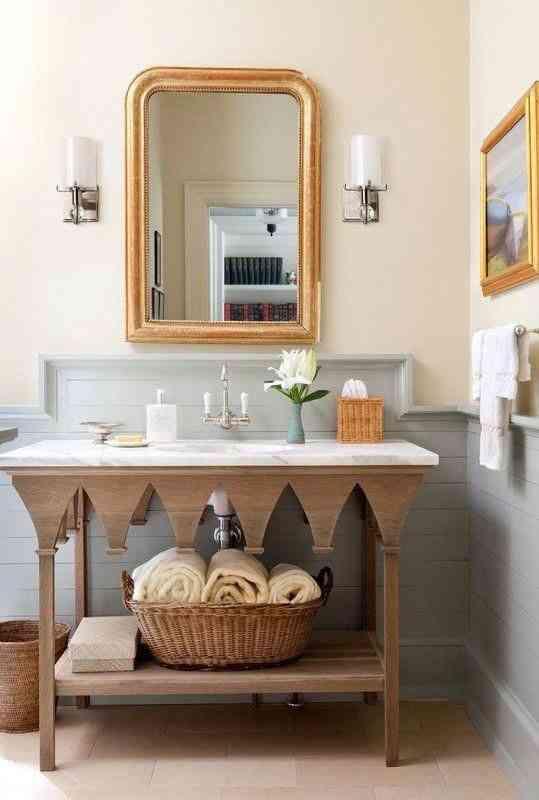 ديكورات شقق صغيرة ألوان فاتحة لدهان الحمام