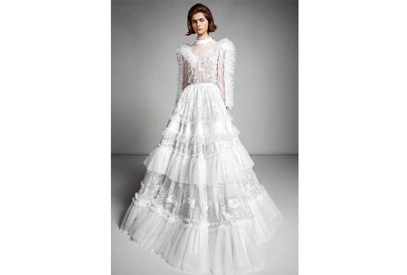 فساتين زفاف 2019 طبقات