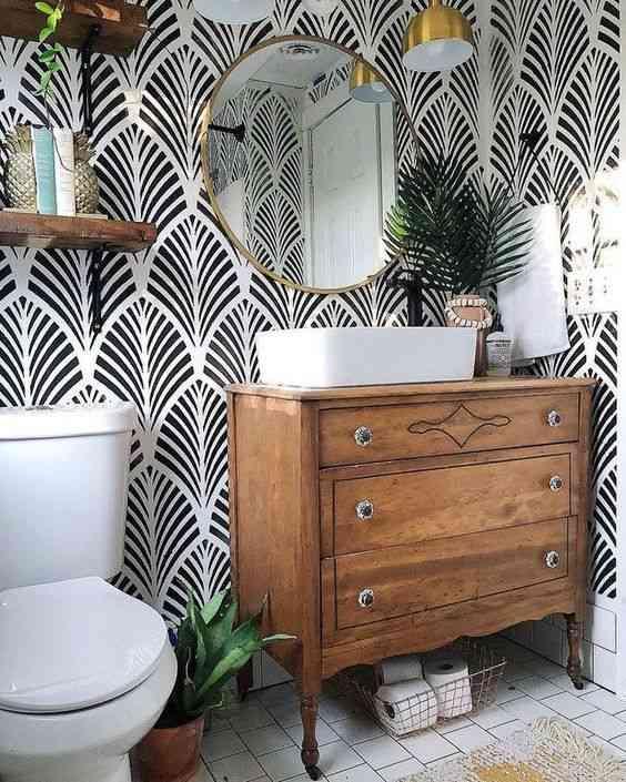 ديكور حمام