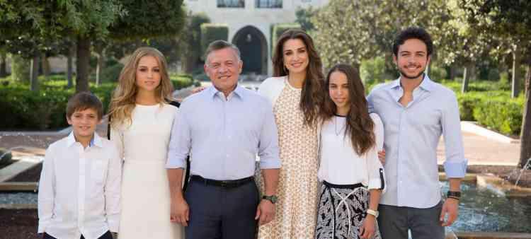 عائلة الملكة رانيا