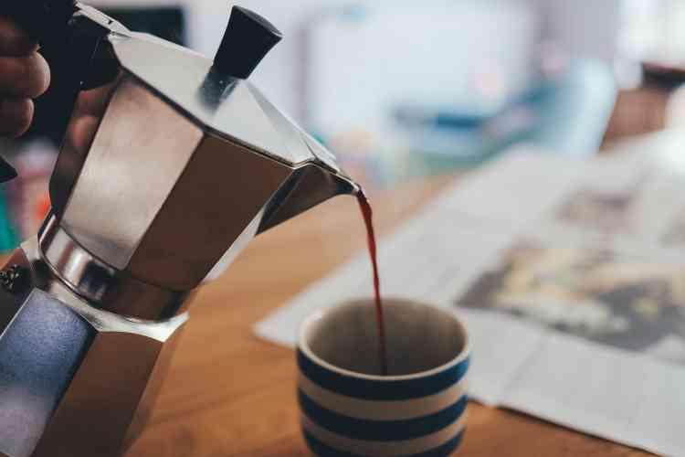 قهوة بدون كافيين
