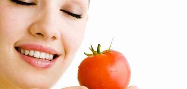 ماسك الطماطم للبشرة