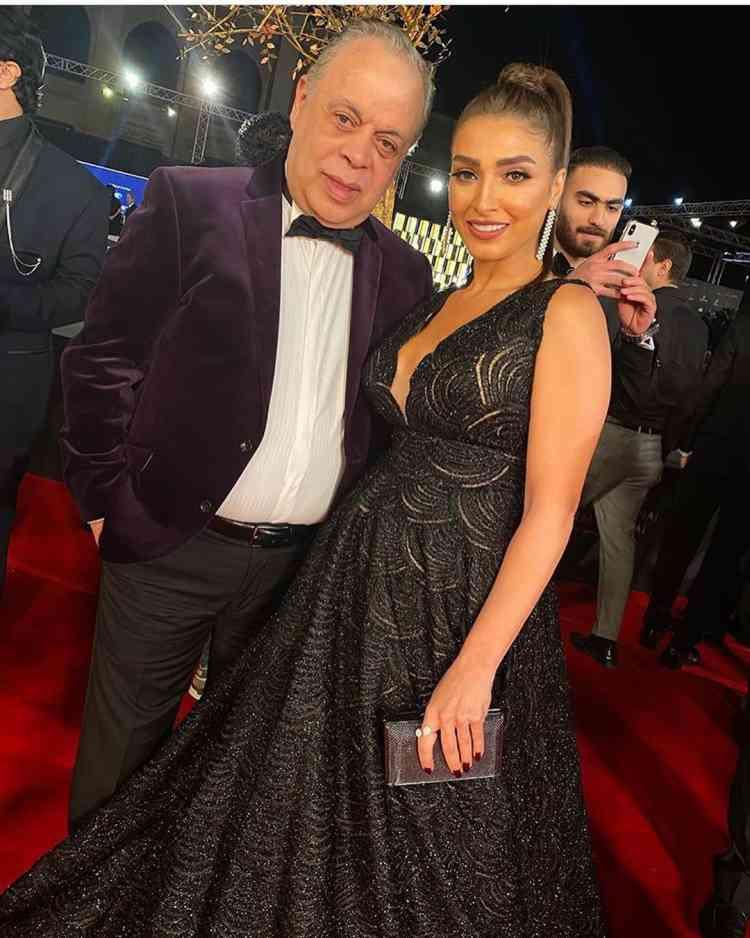 روجينا وأشرف زكي في مهرجان القاهرة السينمائي 2019