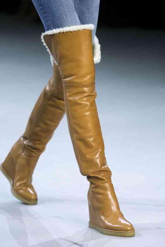 أحذية شتاء 2020 أحذية ودجز طويلة