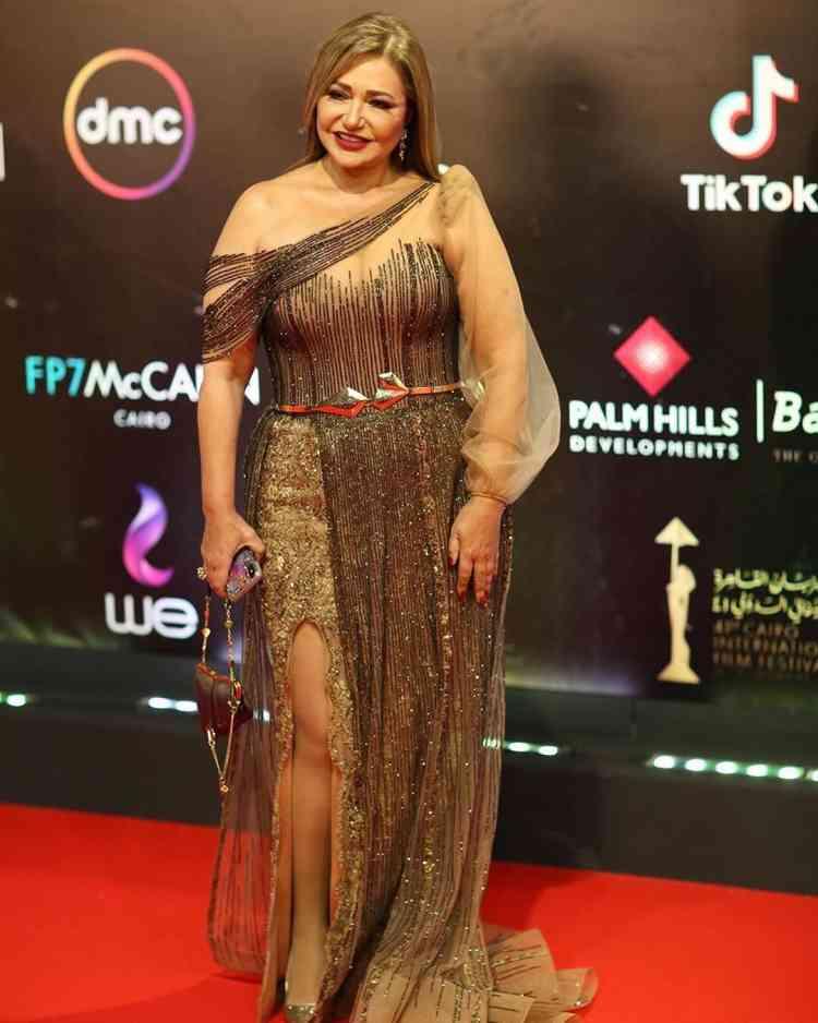 فستان ليلى علوي في مهرجان القاهرة السينمائي 2019