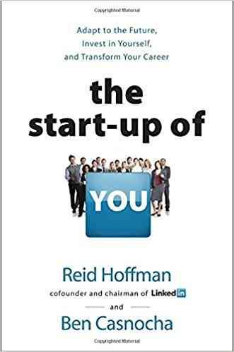 كتب ريادة الأعمال كتاب The Startup of You