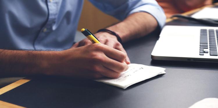 التدوين للتحفيز الذاتي