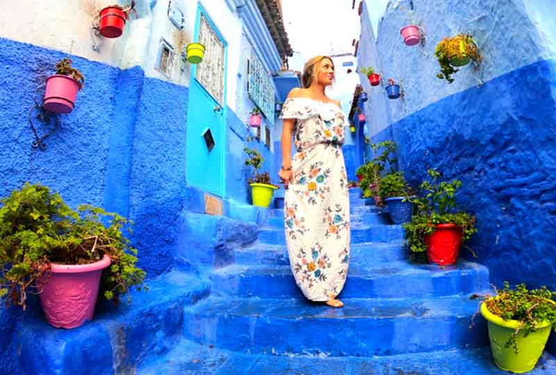 مدن عربية سياحية شفشاون