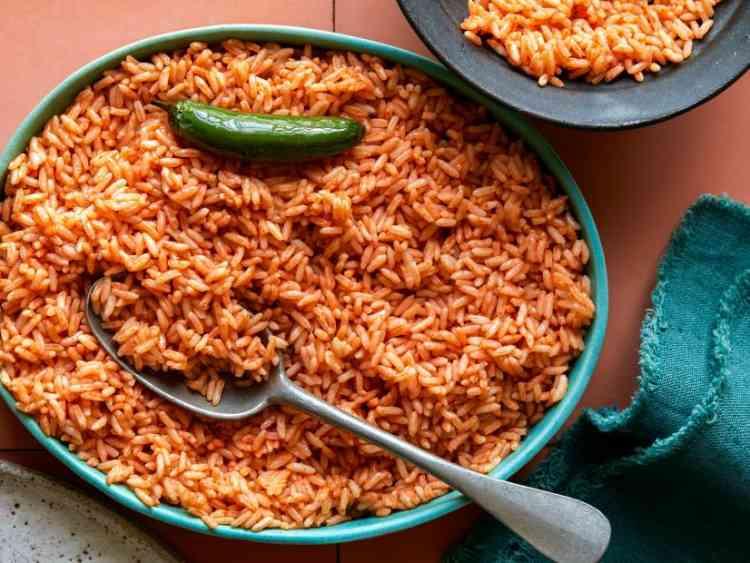 طريقة عمل الأرز البسمتي الأحمر