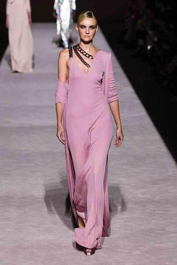 موضة فساتين 2020 فستان مستقيم