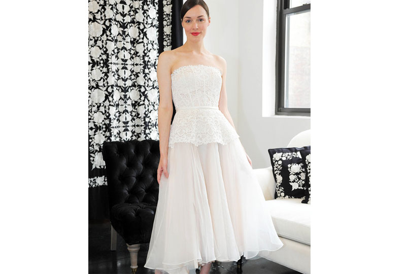 فساتين زفاف بكورسيه