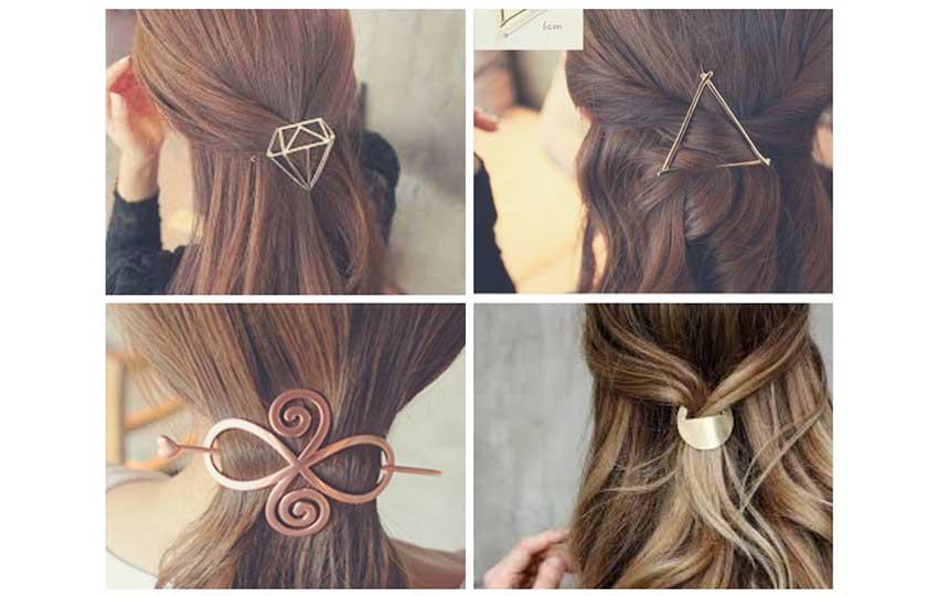 إكسسوارات الشعر- رابطة الشعر النحاسية