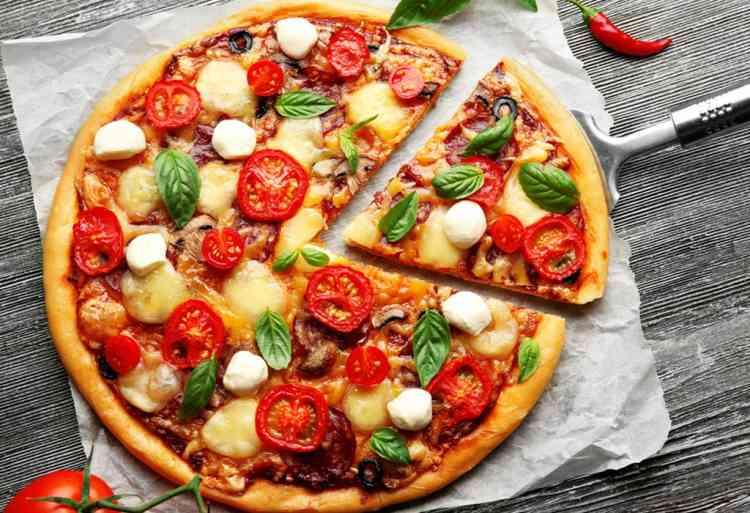 أكلات صحية بيتزا الشوفان