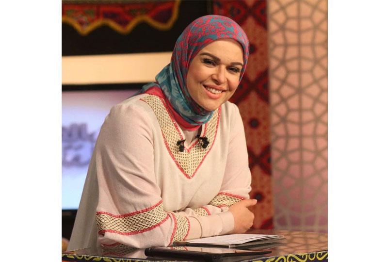 لفة حجاب منقوش من إيمان رياض