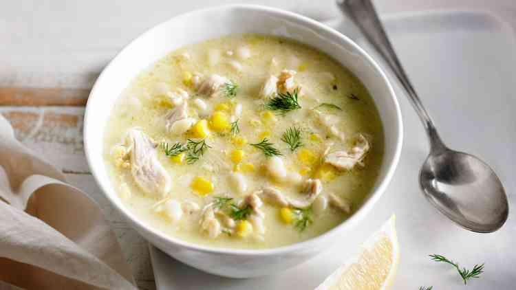 أكلات غير تقليدية في رمضان طريقة عمل شوربة الدجاج بالذرة والكريمة