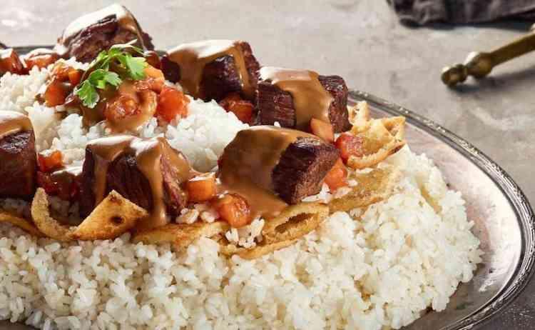 طريقة تحضير  فتة اللحم- لأكلات المصرية