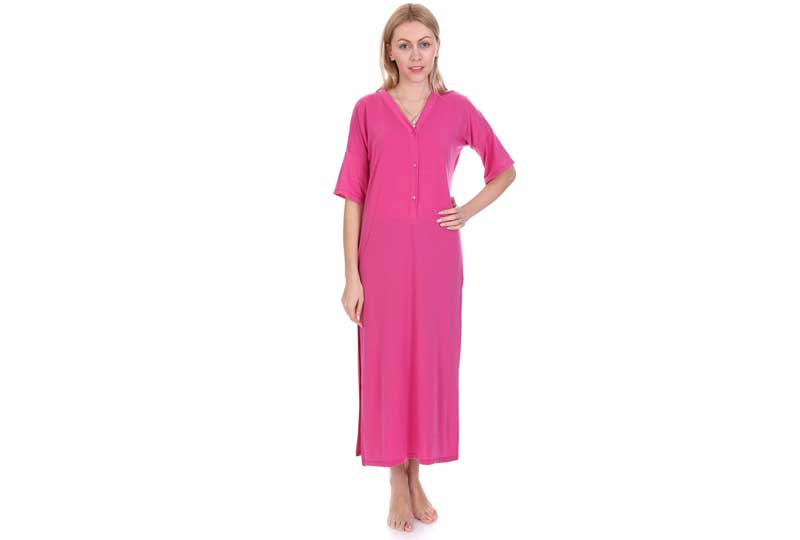 فستان فوشيا للبحر