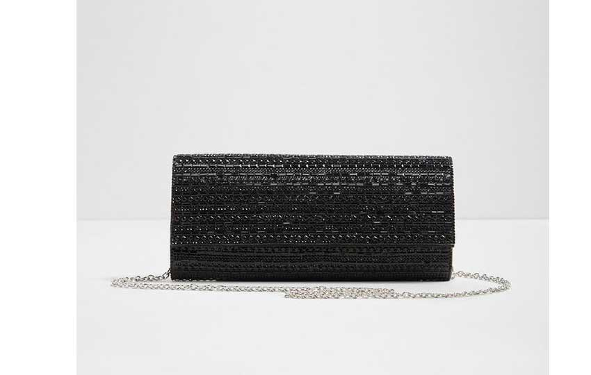 حقائب للمناسبات - حقيبة سوداء ماركة ألدو