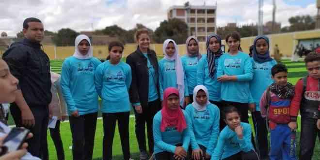 دوري للفتيات والنساء في السعودية والمنيا