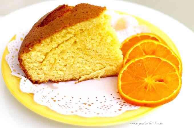 طريقة عمل كيكة البرتقال الهشة بالشوفان