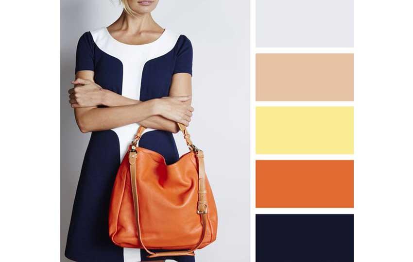 تنسي ألوان الملابس مع الحقيبة