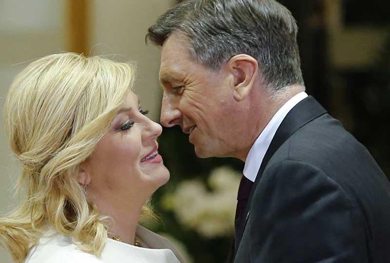 رئيسة كرواتيا وزوجها