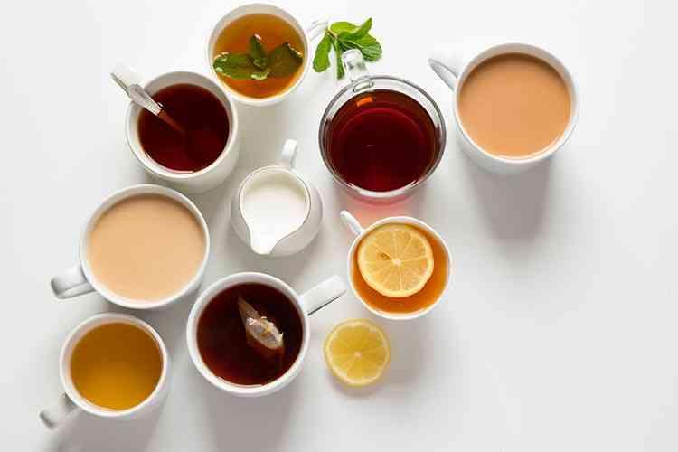 الفرق بين أنواع الشاي