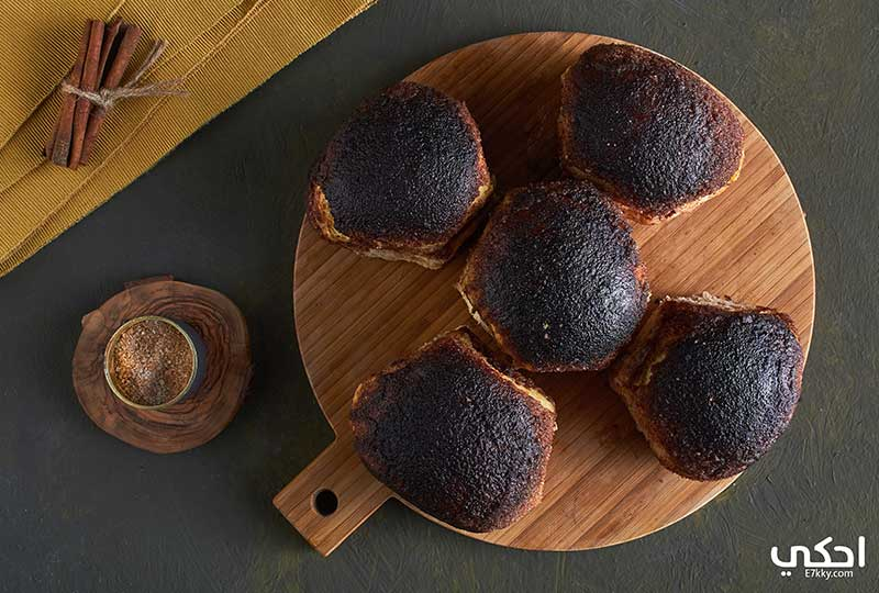 طريقة عمل فطائر القرفة والسكر