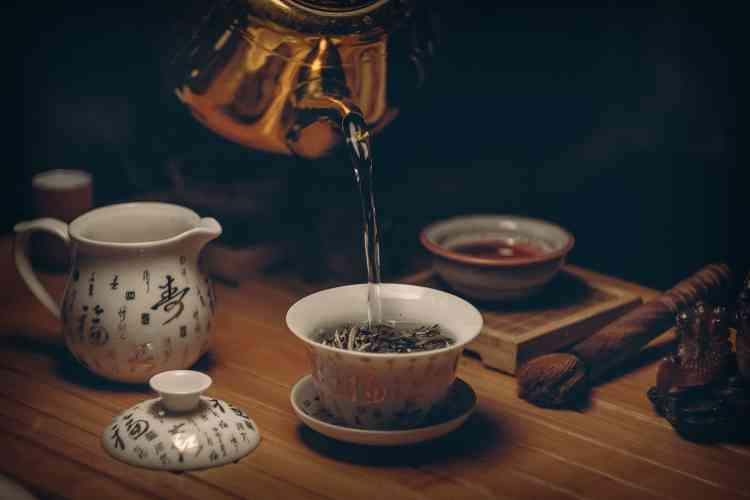 طريقة عمل الشاي الأخضر