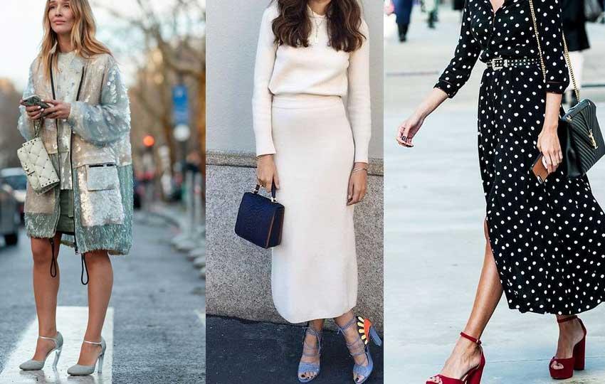 تنسيق ألوان الملابس مع الأحذية