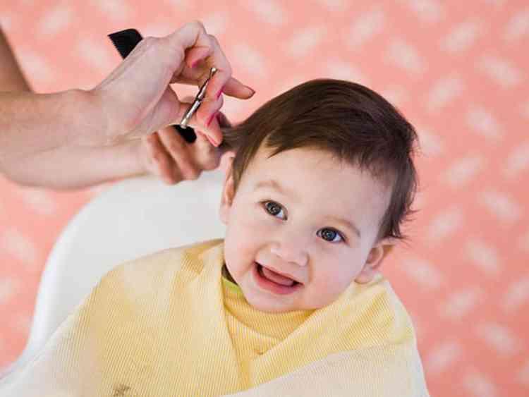 فص شعر الأطفال