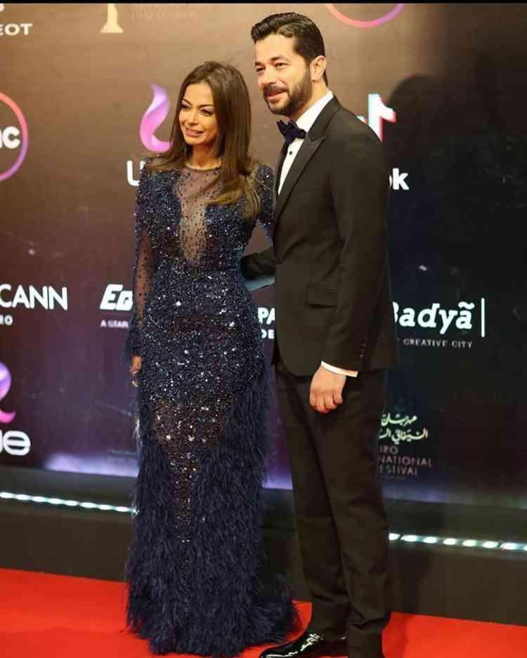 شريف سلامة وداليا مصطفى في مهرجان القاهرة السينمائي 2019