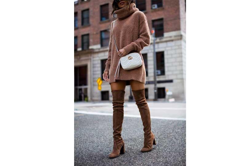 ملابس شتوية حذاء بوت طويل