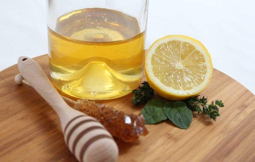 ماسكات الشعر الهايش - ماسك العسل والليمون