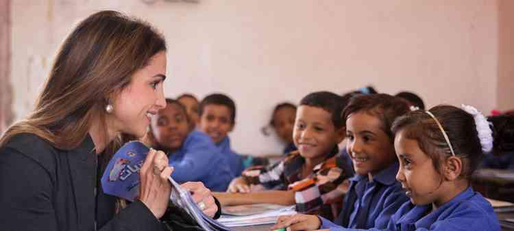 مبادرات الملكة رانيا