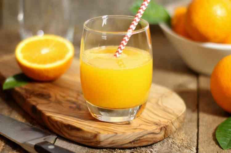 طريقة عمل عصير البرتقال في البيت