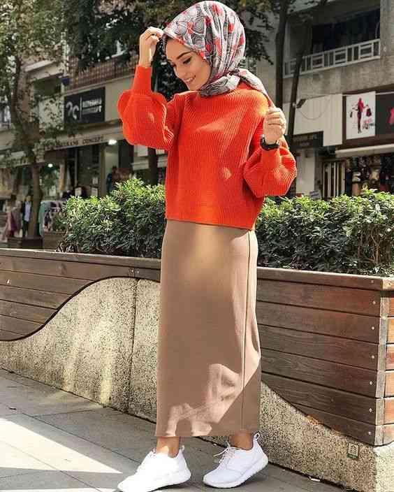 أزياء محجبات تركية شتوية