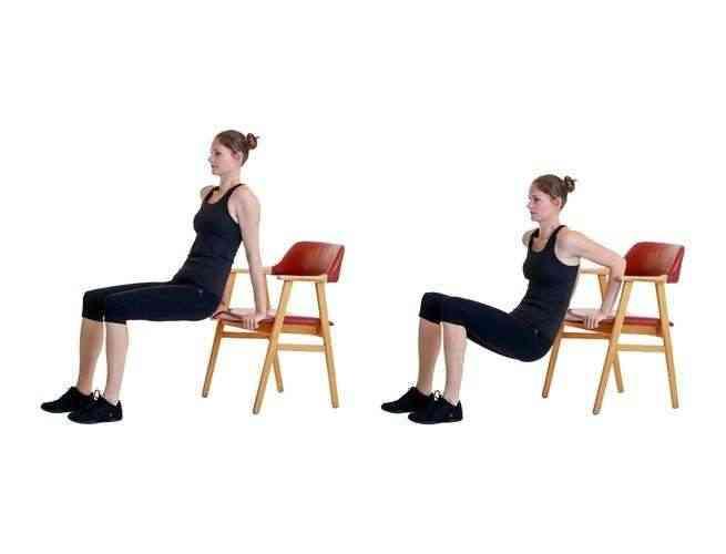 تمارين الكرسي للأرداف