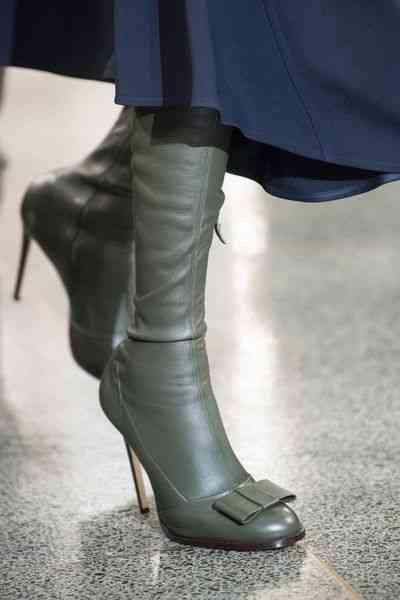 أحذية شتاء 2020 حذاء الجورب الطويل