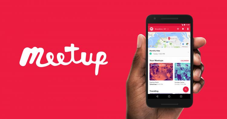 تطبيقات للتعارف MeetUp