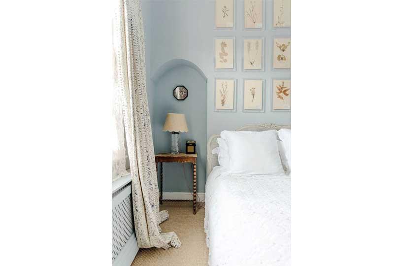 ألوان غرف نوم باللون الأزرق الفاتح