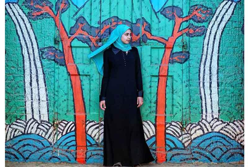 تصوير سارة أنور في البرلس