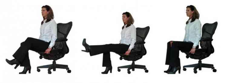 تمارين اثناء الجلوس علي المكتب