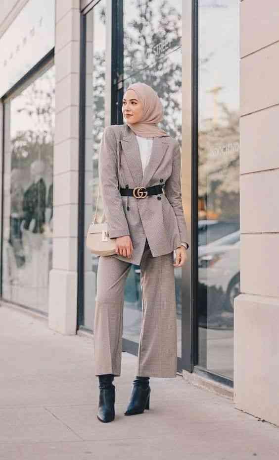 ملابس محجبات كاجوال بليزر