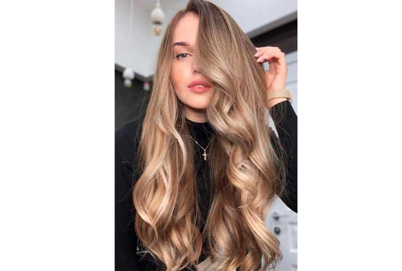 ألوان صبغات الشعر اللون البني المائل للأشقر