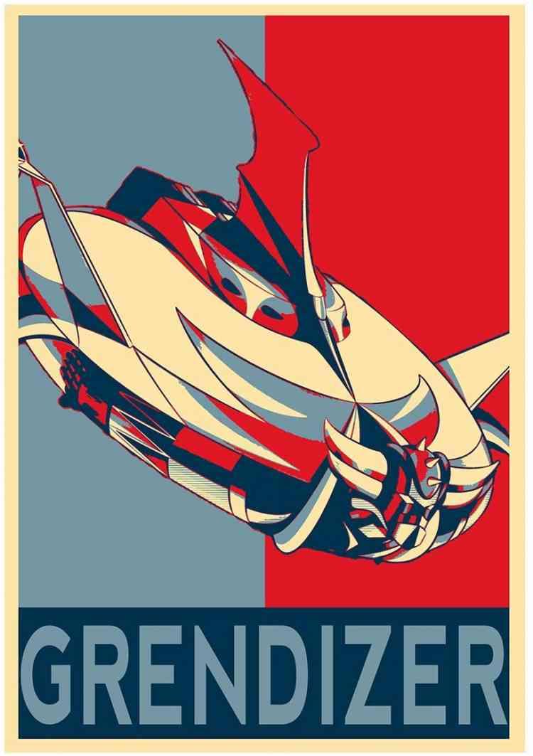 مسلسلات أنمي Grendizer