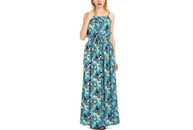 فستان كاجوال أزرق