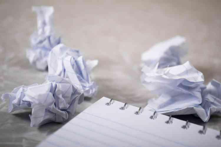 التعامل مع writer's block