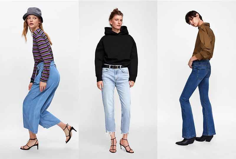 موضة شتاء 2019 البنطلونات من Zara